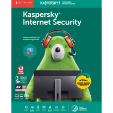 Kaspersky Internet Security (1 User | 1 Year License)