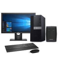 Dell Optiplex 3070 MT Intel Core i5 9500 9th Gen with MaxGreen MG-LI-EAP-650VA Offline UPS