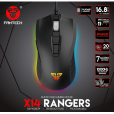 Fantech X14 Wired Gaming Mouse