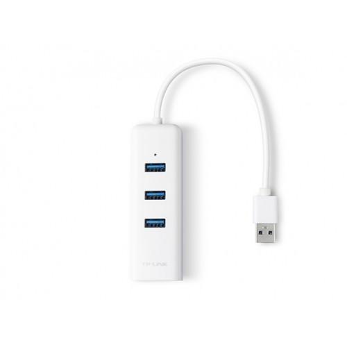 TP-Link UE330 USB 3 Port HUB With Gigabit Ethernet Port