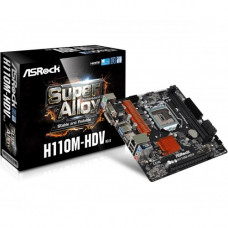 ASRock H110M-HDV R3.0 Super Alloy Micro ATX Motherboard