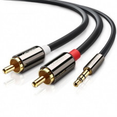 UGREEN 3.5mm male to 2RCA male cable 5M