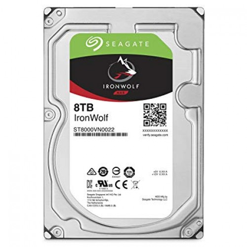 Seagate IronWolf 8TB Internal SATA Hard Drive