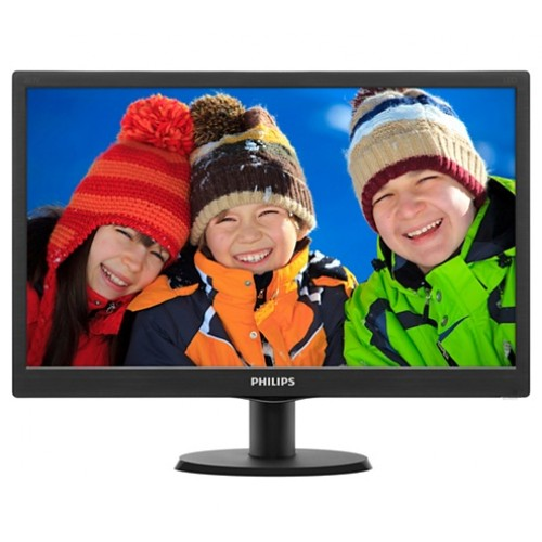 "Philips 203V5LSB2/27 LCD 19.5"" Monitor"