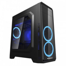 MaxGreen G561-F Blue Window ATX Casing