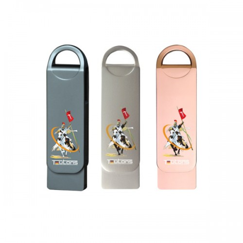 TEUTONS Metallic Knight 16GB USB 3.1 Gen-1 Flash Drive