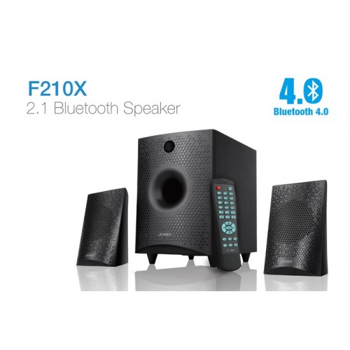 F&D F210 X 2.1 Channel Multimedia Bluetooth Speaker
