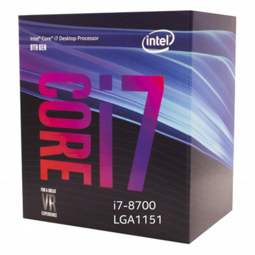 Intel 8th Generation Core i7-8700 Processor