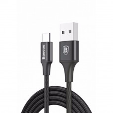 Baseus Rapid Series Type-C Data Cable with Indicator Light – Black