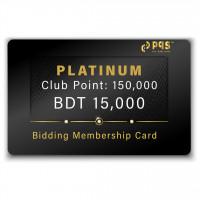 PQS Platinum Bidding Membership Card