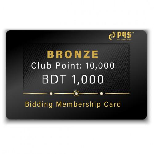 PQS Bronze Bidding Membership Card