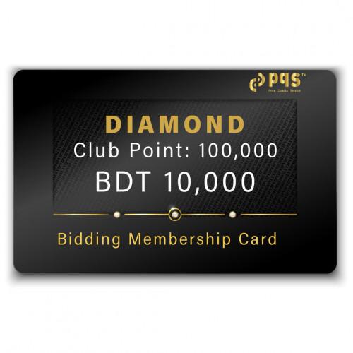 PQS Diamond Bidding Membership Card