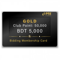 PQS Gold Bidding Membership Card