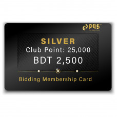 PQS Silver Bidding Membership Card