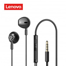 Lenovo HF140 Wired Half In-Ear Headphones – Black