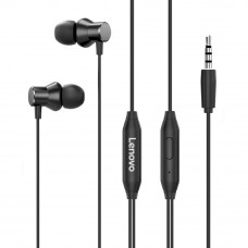 Lenovo HF130 Wired 3.5mm In-ear Headphones – Black