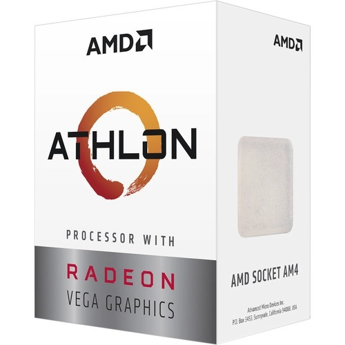 AMD Athlon 3000G Processor with Radeon Graphics
