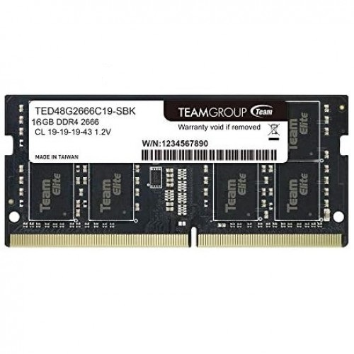TEAM ELITE 8GB 2666MHz Laptop RAM