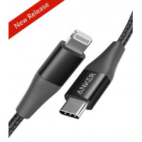 Anker Powerline+ II USB C to Lightning Cable [3 ft Apple MFi Certified]