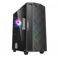 MaxGreen A361 RGB Mid Tower Case