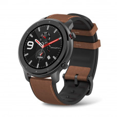 Amazfit GTR 47mm Aluminium Alloy Black & Brown Smart Watch (Global Version)