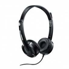 Rapoo H100 Wired Headset-Black