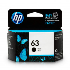 HP 63 Ink Cartridge (Black)