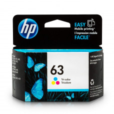 HP 63 Ink Cartridge (Tricolor)