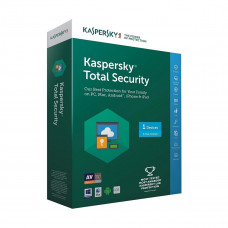 Kaspersky Total Security (1 User | 1 Year License)