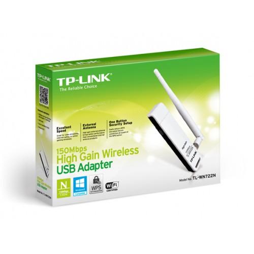TP-LINK WN722N 150Mbps High Gain Wireless USB LAN Card