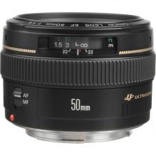 Canon EF 50mm f/1.4 USM Prime Lens