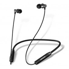 Lenovo HE05 Bluetooth Magnetic Neckband Earphones Black
