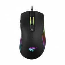 HAVIT HV-MS1002 RGB Backlit Programmable Black Gaming Mouse