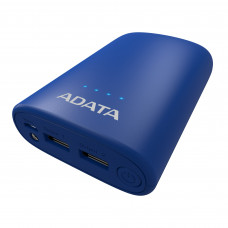 ADATA P10050V Power Bank 10050 mAh Black and Blue