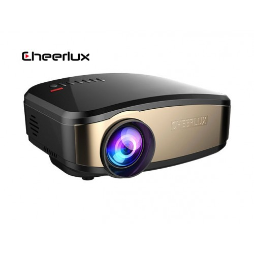Cheerlux C6 WI-FI With Built-In TV Card Mini LED Projector