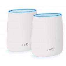 NETGEAR RBK20 Orbi Whole Home AC2200 Tri-band Mesh Router(2 pack)
