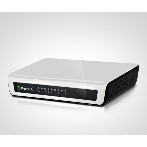 Perfect PFT-ES8 – 8 PORT Ethernet Networking Switch