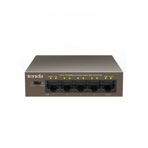 Tenda TEF1105P 5-Port with 4-Port PoE Switch