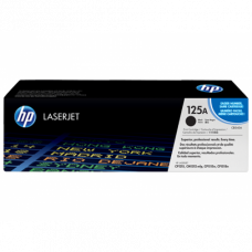 HP 125A Black Original LaserJet Toner Cartridge