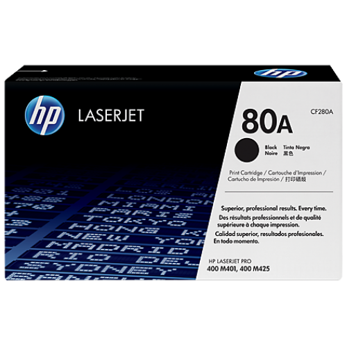 HP 80A Black Toner Cartridge (For LJ M401N,D,DN)
