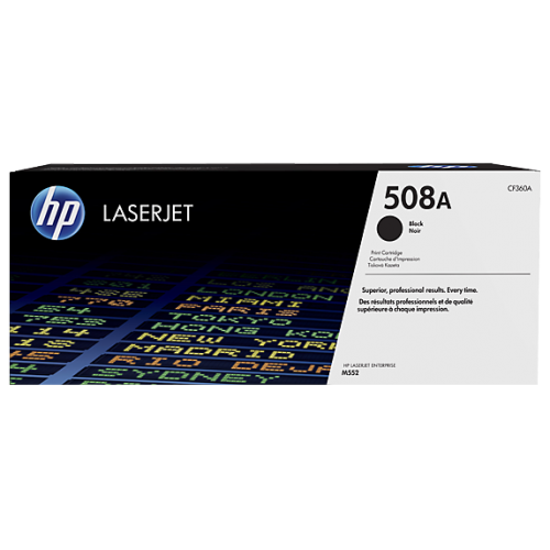 HP 508A Black Original LaserJet Toner