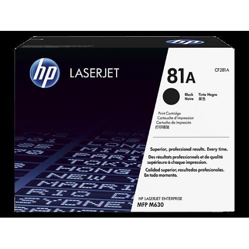 HP 81A Black Original LaserJet Toner