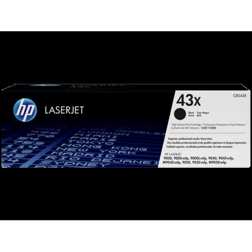 HP 43X High Yield Black Original LaserJet Toner